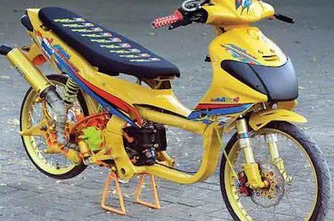 Gambar Motor Drag Mio Modifikasi Racing Terbaik