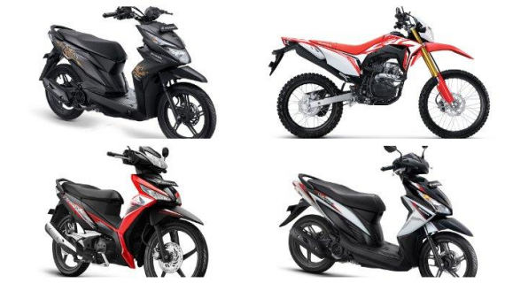 Model dan Varian Motor Honda Terbaru 2020