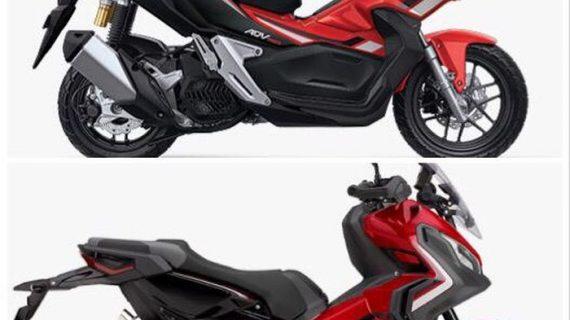 Perbedaan Antara Motor ADV dan Motor X-ADV