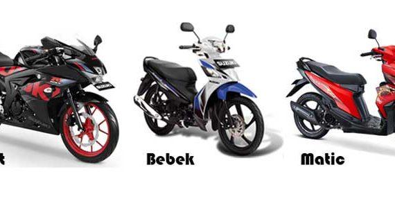 Perbedaan Motor Bebek, Motor Matic, Dan Motor Sport