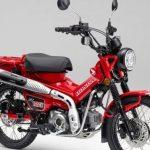 Motor Bebek Honda CT125 Trekking